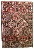 857 Vintage Persian Carpet