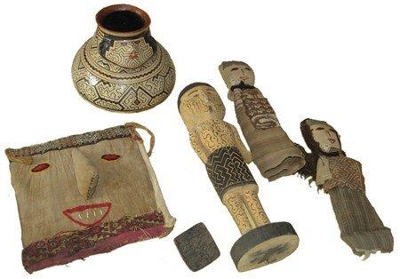 9: 6 Peruvian Artifacts