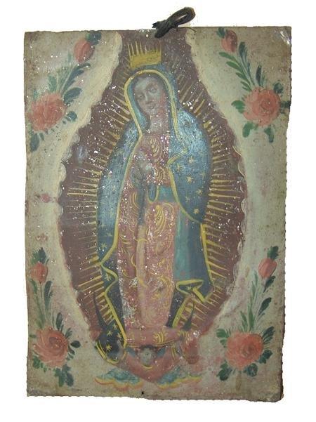 15: Mexican Tin Retablo