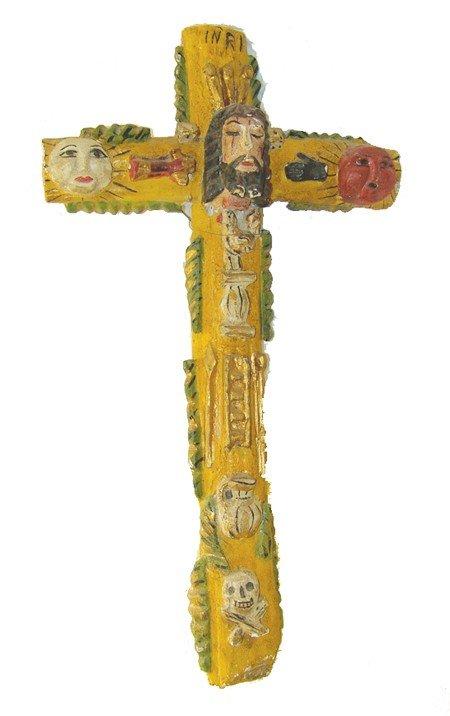 21: Mexican Folk Art Cross