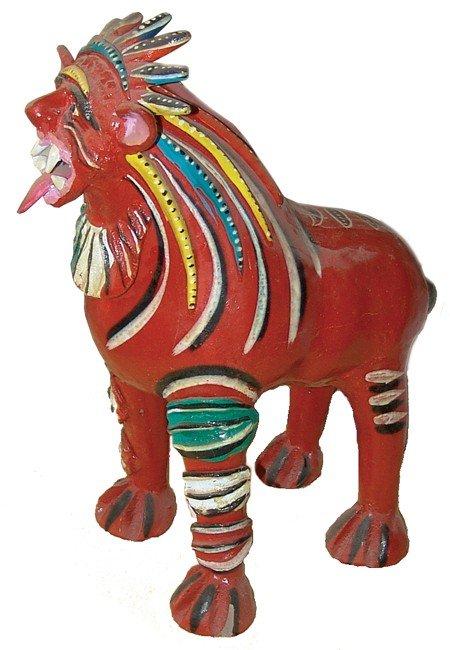 30: Mexican Folk Art Nagual - Candelario Medrano