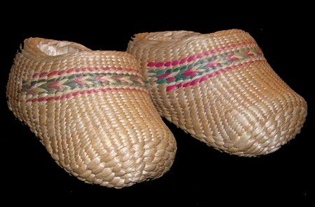419: Basketry Slippers