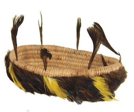 421: Pomo Feather Basket