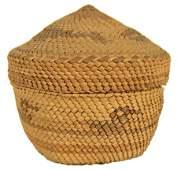 472: Nuu-Cha-Nulth (Makah) Lidded Basket
