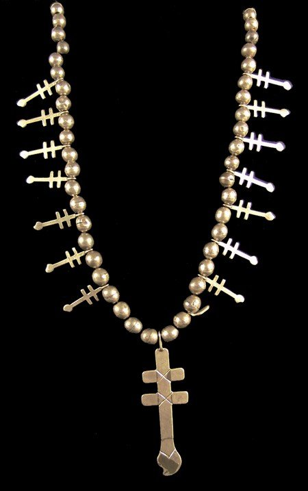 852: Pueblo Cross Necklace