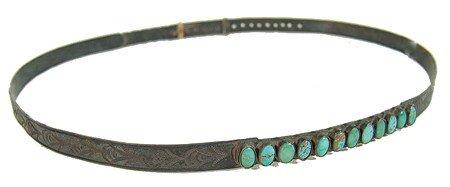 3: Navajo Hatband