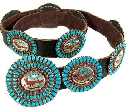 5: Zuni Concho Belt