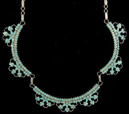 7: Zuni Inlay Necklace