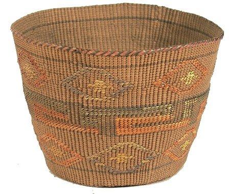 14: Tlingit Basket
