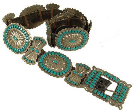 573: Navajo Concho Belt