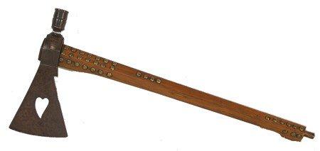 804: Iron Headed Pipe Axe