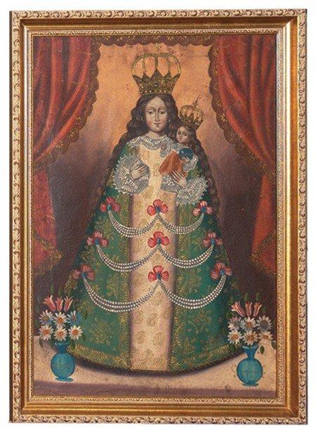 817: Original Oil Painting- Mexico