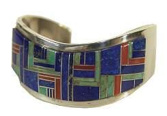 875 Zuni Inlay Bracelet  Tommy Jackson
