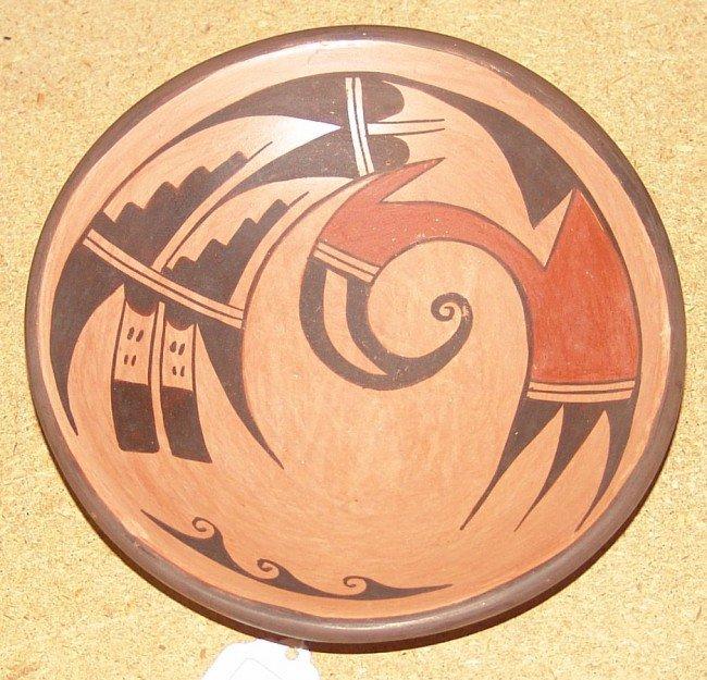 Hopi Plate - Garnet Pavatia