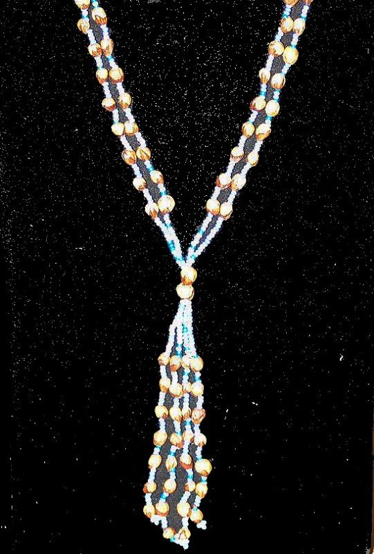 1: Ghost Bead Necklace
