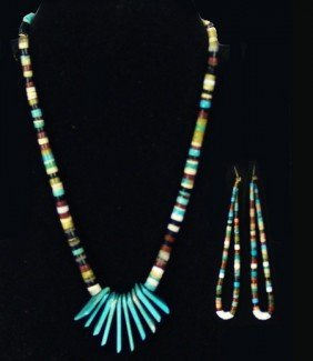 Pueblo Necklace Set
