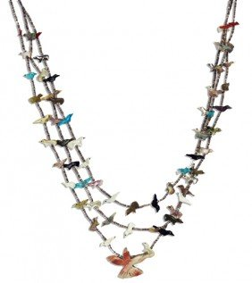 Navajo Fetish Necklace