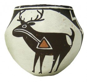 Acoma Pottery Jar- Lucy Lewis