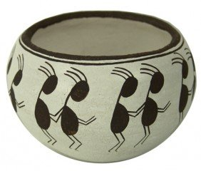 Acoma Pottery Jar- Dolores Lewis