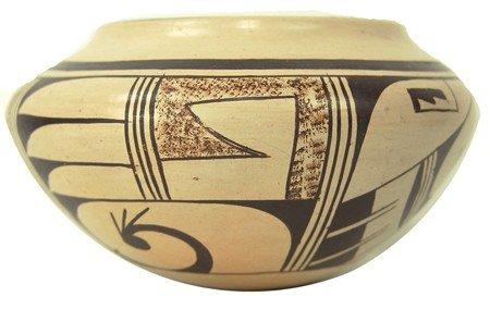Hopi Pottery Jar- Featherwoman (Helen Naja)