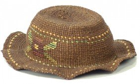 Tsimsian Hat Basket