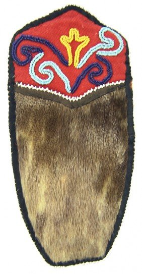 Tlingit Seal Skin Pouch