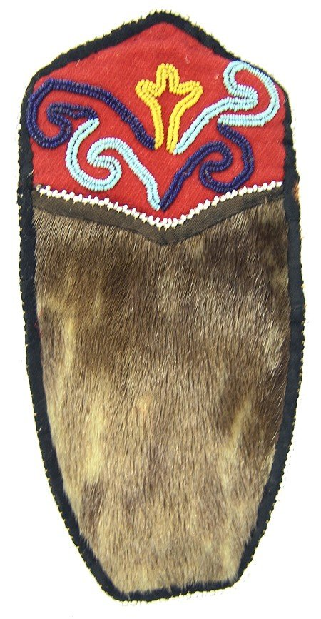 Tlingit Seal Skin Pouch