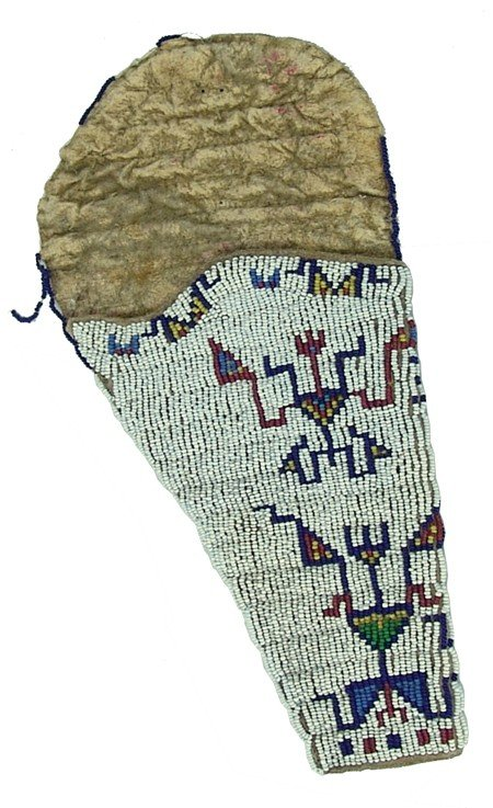 Sioux Beaded Holster