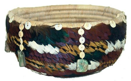 Pomo Feather Basket- Rose Anderson