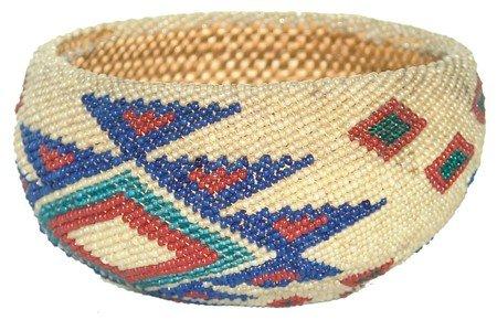 Pomo Beaded Basket