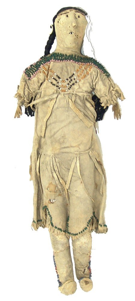 Plains Buckskin Doll