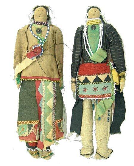 2 Seminole Dolls
