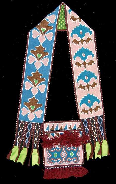 Lenape Delaware Bandolier Bag