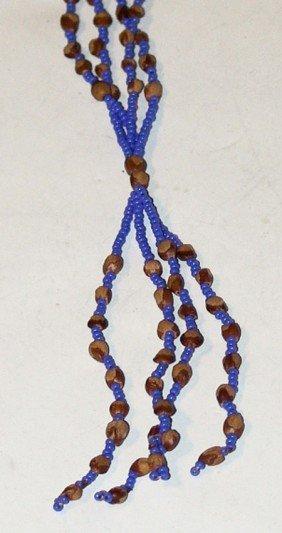 Cedar Ghost Bead Necklace