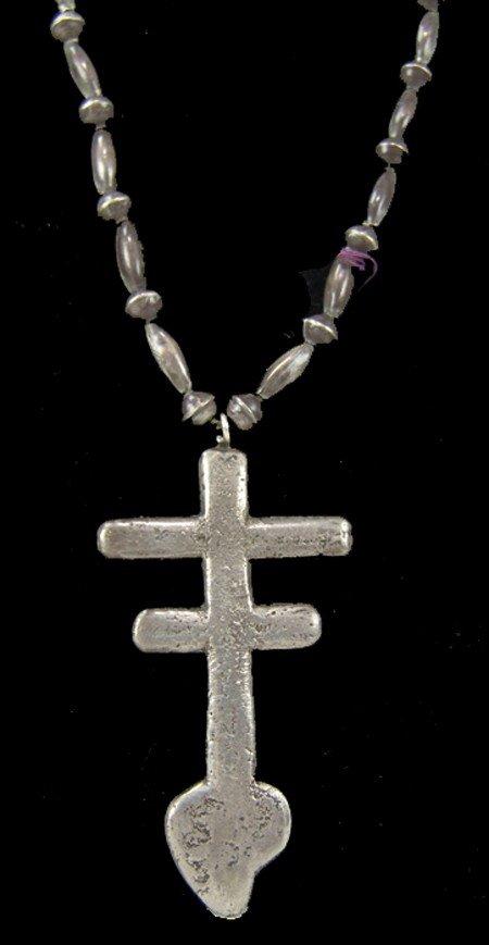 Pueblo Cross Necklace