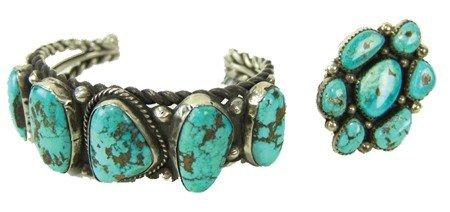 Navajo Bracelet & Ring