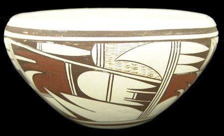 Hopi Pottery Jar - Frog Woman (Joy Navasie)