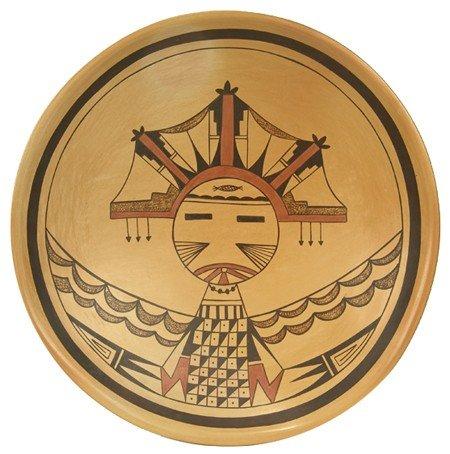 Hopi Pottery Plate - Dawn Navasie