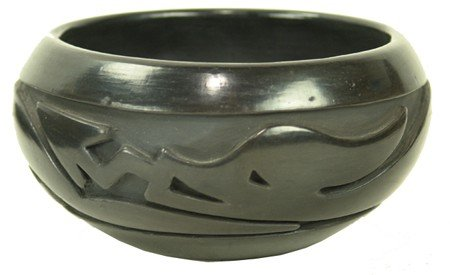 Santa Clara Pottery Jar - Stella Chavarria