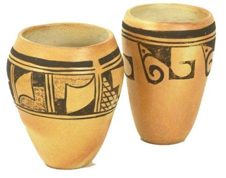 2 Hopi Pottery Jars - Anette Silas