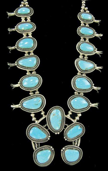 Navajo Necklace & Earrings