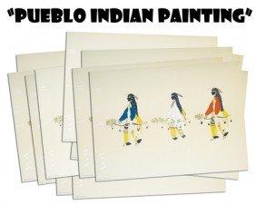 """""""Pueblo Indian Painting""""- Portfolio"""