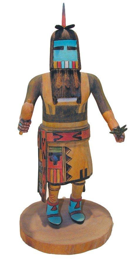 Hopi Katsina Carving - Willard  Sewemulnewa