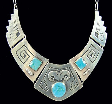 "Hopi Necklace- ""F.D."""