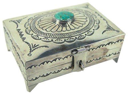 Navajo Silver Box - Suzie James