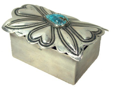 Navajo Silver Box
