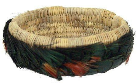 Pomo Feather Basket - Maude Boggs