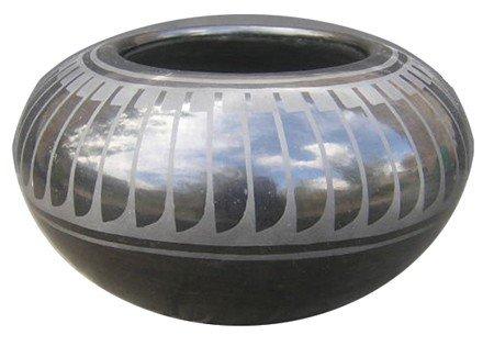 San Ildefonso Pottery - Blue Corn