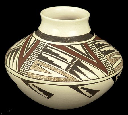 Hopi Pottery Jar - Navasie