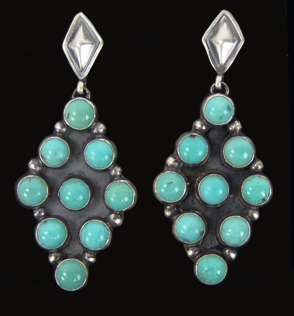 6: Navajo Earrings- Rita James